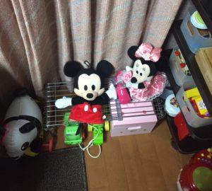 おもちゃ置き場完成